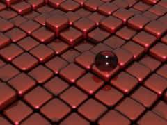 red, floor