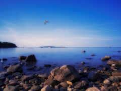 sahil, rock, природа