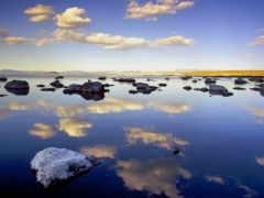природа, mono, озеро