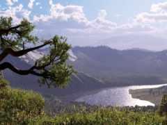 paisajes, rboles, ríos