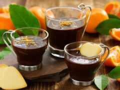 оранжевый, hot, chocolate