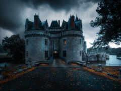 loire, франция, castle