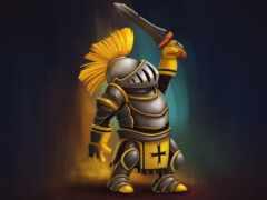 рыцарь, доспех