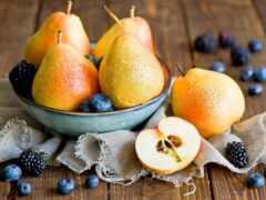 груша, ягода, плод