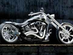 мотоцикл, chopper, доска