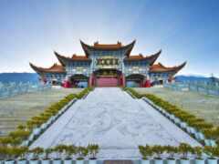китаянка, лестница, architecture