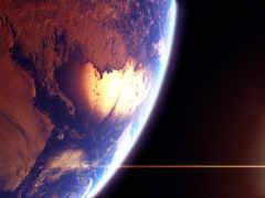космос, отражение, sun