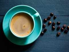coffee, circle, cup