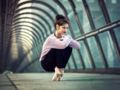танце, балет, балерин