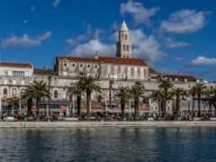 split, панорама, хорватия