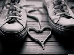кеды, романтические, романтика