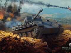 танк, panther, world