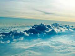 oblaka, небе, красивые