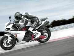 мотоцикл, yamah, гонщик