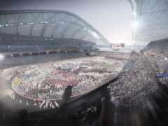 стадион, фишт, сочи