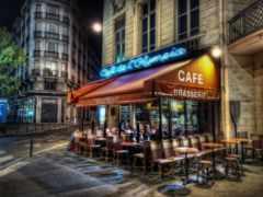 кафе, париж, париже