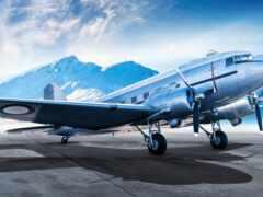 avion, fond, plane