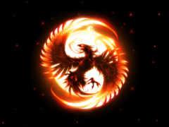 птица феникс, символ