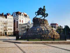 ukraine, киев, статуя