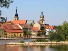 kitzingen, miasteczko, zamek