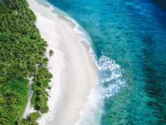 побережье, море, первую