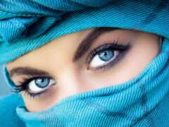 глаз, взгляд, девушка