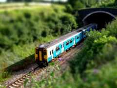 туннель, поезд, into