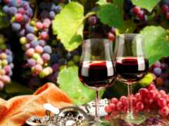 glass, вино, бутылка