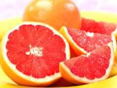 грейпфрут, сочный, мякоть