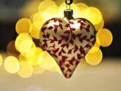 pattern, сердце, white