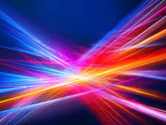 линии, neon, картинка