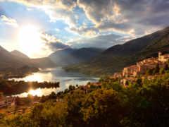 барреа, озеро, abruzzo