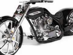мотоцикл, kastyi, cadillac