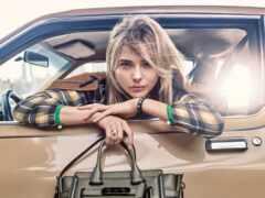 девушка, car