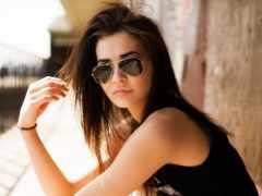солнцезащитных, очки, очков