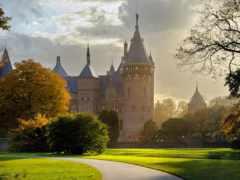 amsterdam, castle, природа