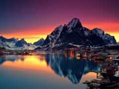 norwegian, гора, сказочный