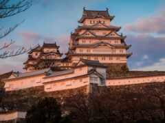 castle, himedz, япония