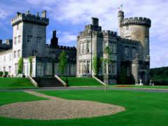 ireland, castle, ennis
