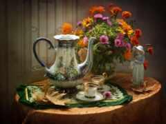 осень, beesona, coffee