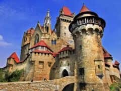 castle, austrian, плакат