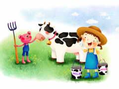 нарисованные фермеры
