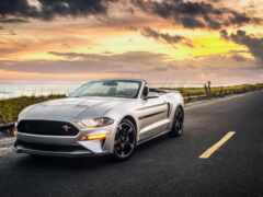 ford, mustang, cabriolet