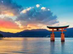 japanese, gate, море