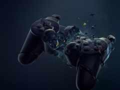 controller, playstation, dualshock