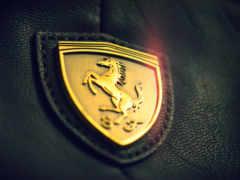 ferrari, логотип, загрузок