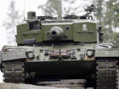 леопард, танк, военный