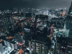 city lights,