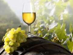 glass, виноград, фотообои