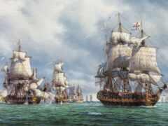 живопись, sailboat, картинка